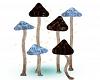 Odd Mushroom Lamps