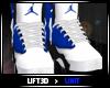 |U|Blue & White Jordan F