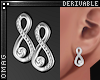 0 | Infinity Earrings Dv