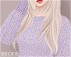 Cosy Knit- Pastel Purple