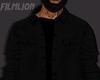 F' Black Denim Jacket