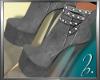 ß FeMale :Gray Boots