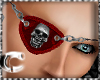 CcC Eyepatches skull red