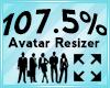 Avatar Scaler 107.5%