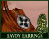 Savoy Earrings Black