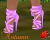 Ribbon Sandal Purple
