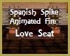 Spanish Style Love Seat