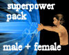!Superpower pack M + F