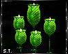 ST: Vivid Glass Candles
