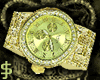 J$ Gold Royalty Watch