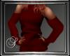 (SL) Cold Shoulder Red