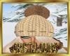 Winter wool hat + hair