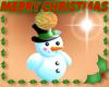 Holiday Earrings Snowman