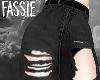Black Ripped Jeans F