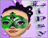 Green Masquerade mask