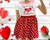 Kid Dads Valentine Dress