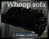 (OD) Whoop black sofa
