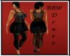BBW Kristy black dress