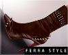 ~F~Leila Boots Brown