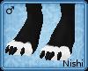 [Nish] Black Claw Paws M