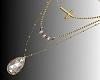 JS Triple Necklace