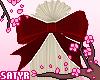Kawaii Hair Bow Red