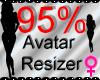 *M* Avatar Scaler 95%