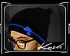 Kd.Akomplice Beanie B/Bl