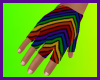 (R)Rainbow Gloves M