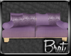 [B] Purple Lounge Couch