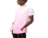 tat + Pink shirt combo