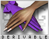 0 | Ruffle Gloves Nails