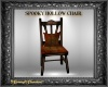 Spooky Hollow Wood Chair
