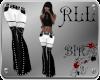 BIR]Pants *black-white