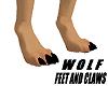 Wolf feet + Claws