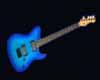 Aari Neon Blue Guitar