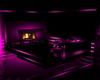 wolf sofa/fireplace pnk