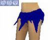 """""""Torn"""" Blue Skirt"""