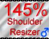 *M* Shoulder Resizer 145
