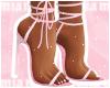 [Mia] Pink Blossom Heels