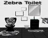Zebra Toilet
