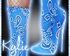 Ocean Bandana Boots