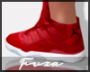 Red Air Js