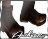 Brown Leather Bker Boots