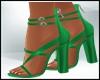 Spring Emerald Sandals