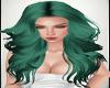 Rubia Green Hair