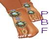 PB*Opal Foot Bling