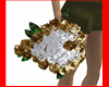 Bouquet Gold an White