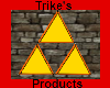 Triforce wall mesh