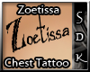 #SDK# Zoetissa Chest T